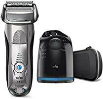 Braun Series 7 Electric Shaver for Men 7898cc Wet and Dry Integrated Precision Trimmer Rechargeable and Cordless Razor...