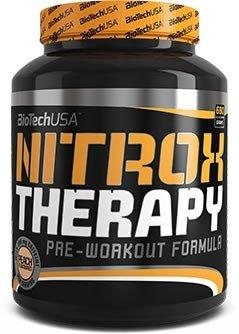 Biotech USA Therapy Nitrox y Energizante Sabor Arándano - 680 gr