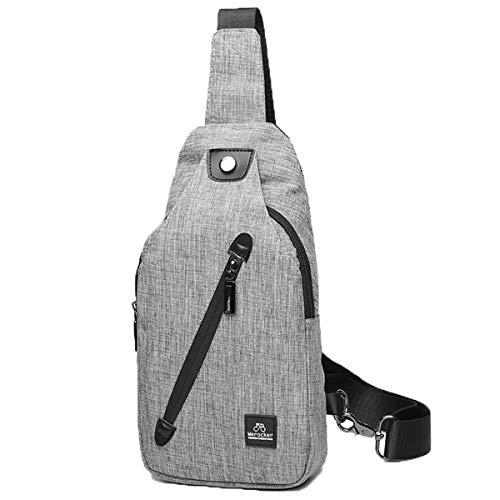 (Deayi Umhängetasche Herren Nylon Schultertasche Jungs Klein Messenger Bag Jugendliche Casual Kuriertaschen Wasserdicht Mode Crossbody Bag Leicht Haltbar)