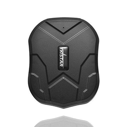 juneo TKSTAR 3 meses inactivo Real Time Protección antirrobo Rastreador GPS para vehículos con imán Potente 5000 mAh batería tk905