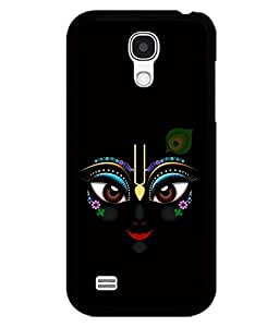 printtech Lord Krishna Beautiful Eyes Back Case Cover for Samsung Galaxy S4::Samsung Galaxy S4 i9500