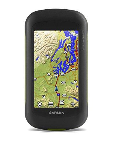 """Garmin Montana 610 - GPS portátil de múltiples actividades (Pantalla táctil de 4"""", Resolución 272 x 480 Pixeles, 2.7 GB), Negro"""