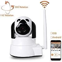 IP WiFi P2P Cámara LXMIMI Cámara IP Inalámbrica Video Vigilancia IR Vision Nocturna HD 720P con