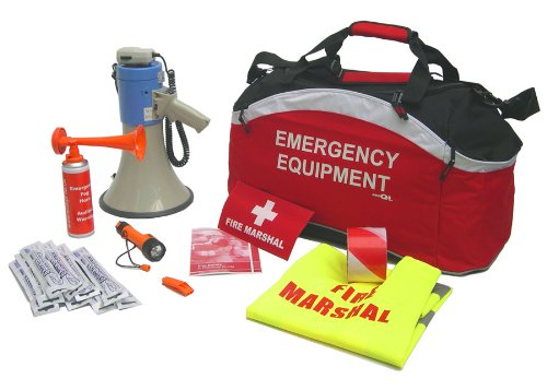 EVAQ8 Workplace Fire Marshal Safety Kit - Buy Online in UAE