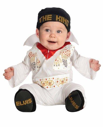 Einteiler/Kostüm Elvis Babykostüm - 0-6 - Elvis Kostüm Jungen
