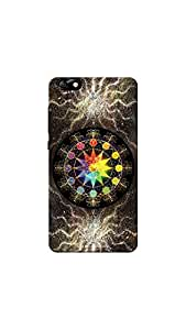 Sowing Happiness HON4X-1565 Printed Back Cover for Huawei Honor 4X