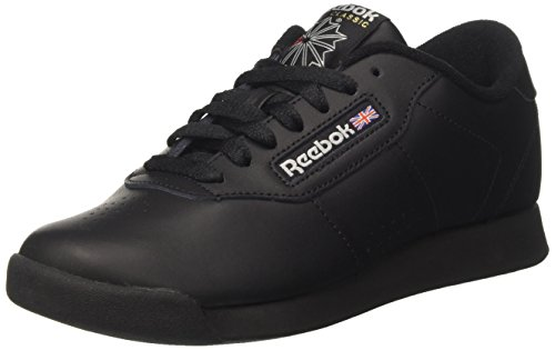 Reebok princess, scarpe da fitness donna, nero (black 000), 39 eu