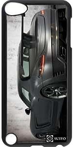 Coque Ipod Touch 5 – voiture de sport grise mat - ref 272