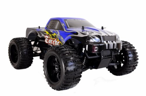 Amewi 22032 - Monster Truck Torche 2,4 GHz M 1 : 10 RTR (Couleurs Assorties)