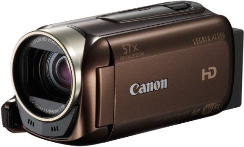 Canon LEGRIA HF R56 Videocamera Digitale FULL HD, Condivisione Tramite Wi-Fi, Marrone