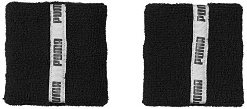 PUMA Unisex- Erwachsene TR ESS Wristbands Classic schweißband, Black, UA