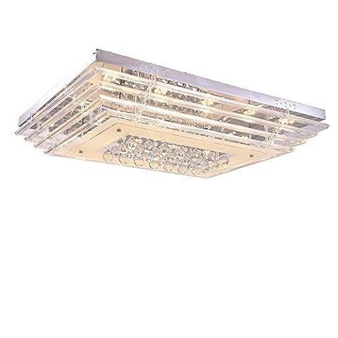 SAILUN® 90W LED Kristall Deckenleuchte Deckenlampe Wohnzimmer Design Licht für