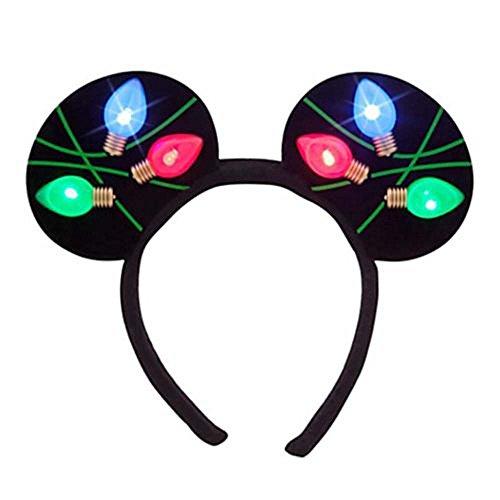 Disney Park Weihnachten Light Minnie Ohren Stirnband von Disney