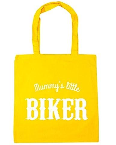 hippowarehouse Petite Forme de momie sac shopping Gym Sac de plage 42cm x38cm, 10litres - jaune - Taille unique