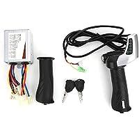 Controlador de Cepillo KEENSO, 24V500W, función de visualización de cantidad de Bloqueo eléctrico, Kit de Agarre del Acelerador de Pulgar multifunción