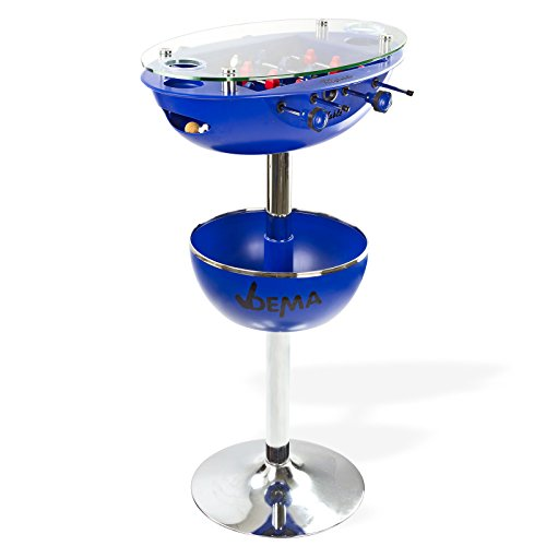 DEMA Bartisch Vegas Blau mit Tischkicker