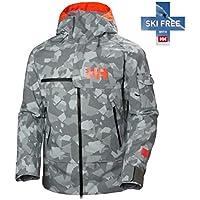 Helly Hansen Garibaldi Jacket Chaqueta, Hombre, 971 Quiet Shade Camo, L