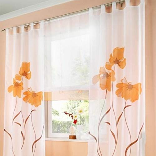Souarts Cortinas bordadas