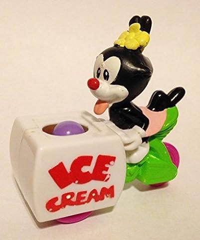 1993 Animaniacs McDonalds Toy Dot's Ice Cream Wagon by McDonald's