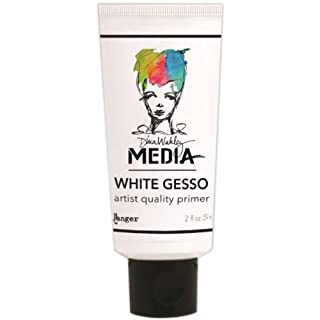 Ranger Dina Wakley Media Gesso 2oz Tube-White,