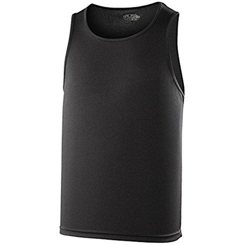 AWDis Cool Vest Herren Lauftop * Farbe: verschiedene Farben * Gr. S-XXL Jet Black