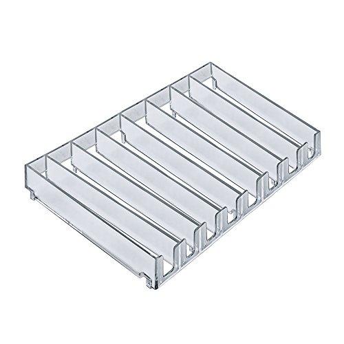 Azar zeigt 22591829,8cm W x 20cm D x 2,9cm H 8-compartment Modular Tray (2Pack) Display-trays