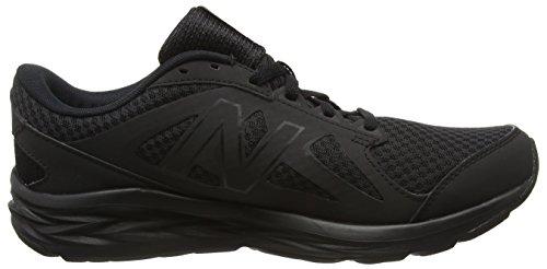 New Balance 490, Chaussures de Running Entrainement Homme Noir (Black/Black 911)