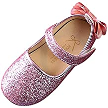 Ballerine,Scarpe Ballerine da bambine e ragazze,Bambino Sandali Scarpe Bambini Moda Principessa Bowknot Danza piccolo casuale sandali Scarpe Bambina Paillettes Sneaker Shoes