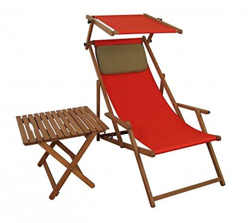 Sdraio Da Spiaggia Legno.Sedia Da Spiaggia Rosso Sedia A Sdraio Lettino Da Giardino In Legno
