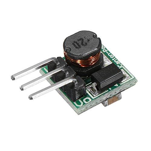 LaDicha 3 Pcs 0.9-5 V À 5 V Dc-Dc Step-Up Module D'Alimentation Boost Convertisseur Conseil 1.5 V 1.8 V 2.5 V 3 V 3.3 V 3.7 V 4.2 V À 5 V 480 Ma 150 Khz