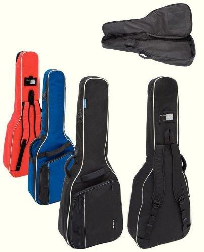 GEWA Economy 12de guitarra eléctrica (Negro)/Resistente y agua