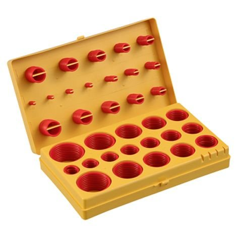Industrial Silicone O Ring Assortment (Inch Size). Special a 407 Piece