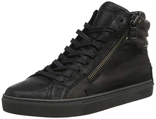 Crime london 11321aa1.20, sneaker a collo alto uomo, (nero 020), 42 eu