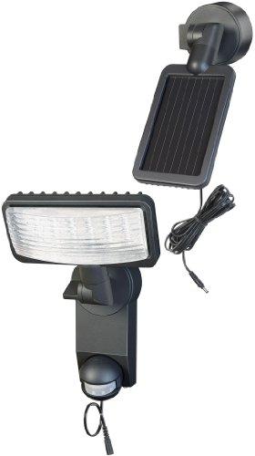 LAMPARA LED SOLAR PREMIUM SOL LH0805 P1 IP44 CON DETECTOR INFRARROJO DE MOVIMIENTOS 8XLED 0 5W 320LM LONGITUD DEL CABLE 4 75M COLOR ANTRACITA