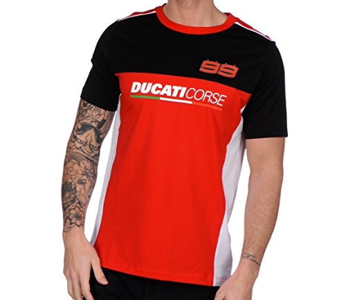 Camiseta Ducati Jorge Lorenzo 99 oficial 2017
