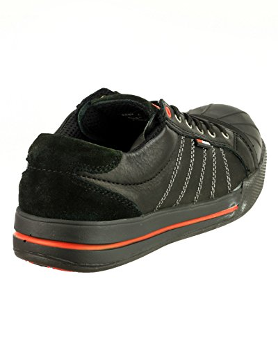 2work4 Sicherheitsschuhe , Chaussures de sécurité pour homme Black