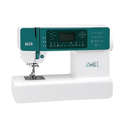 Alfa ZART01-Maquina de Coser electrónica, Blanco