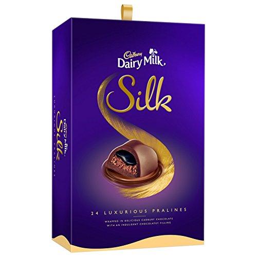 Cadbury Dairy Milk Silk Pralines Chocolate Gift Box, 240g