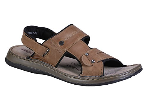 Woodland Men's Camel Sandals - 9 UK/India (43EU)(OGD 2451117)  available at amazon for Rs.1500