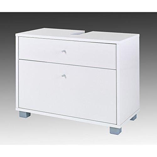 Waschbeckenunterschrank Veronika, Schildmeyer, weiß (65 cm breit)