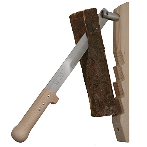 Preisvergleich Produktbild Red Anvil #1401-G HüttenSplitter Holzspalter für Anmachholz aus Buche/Edelstahl geeignet für Hart- und Weichholz. Hand made in Germany