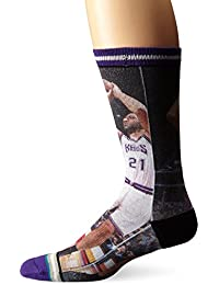 Stance vlade divac & Jason Williams Hardwood Classics NBA Legends Calcetines, multicolor