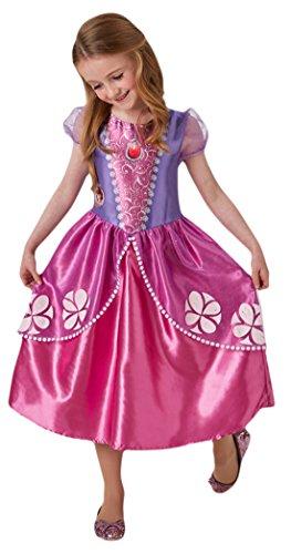 erdbeerloft - Mädchen Karneval Kostüm Sofia die Erste , Pink, Größe 92-98, 2-3 Jahre (Traum Mädchen Katze Kostüm)