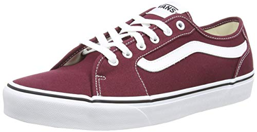 Vans Herren Filmore Decon Sneaker, Rot ((Canvas) Port Royale/White 8j7) 47 EU