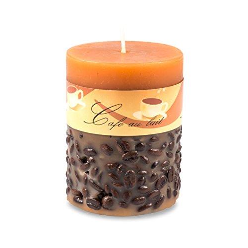 pajoma-64095-stumpenkerze-cafe-au-lait-mit-kaffeebohnen