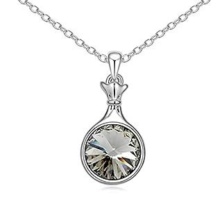 Daesar Schmuck Damenkette Vergoldet Flasche Halsketten Zirkonia Anhänger Halskette für Frauen