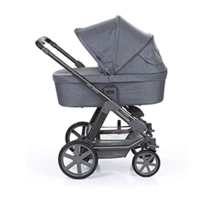 ABC Design Condor 4 Kinderwagen 3 in 1 Set (inkl. Wickeltasche & Fußsack)