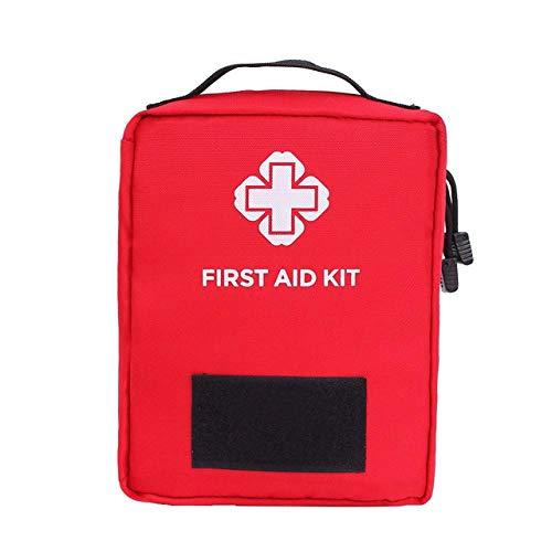 BAPDSB 55 Stücke Outdoor Erste Hilfe Überleben Kit Home Auto Notfall Medizinische Tasche Medizin Medikament Pille Box Tasche Reise Sport Rettungs Behandlung (Von Und Taschen Behandlung Boxen)