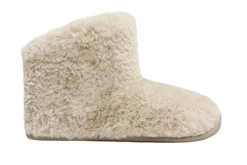 Ruby & Ed Natural Sheepy Boot, Sneaker basse Donna Beige (Natural)