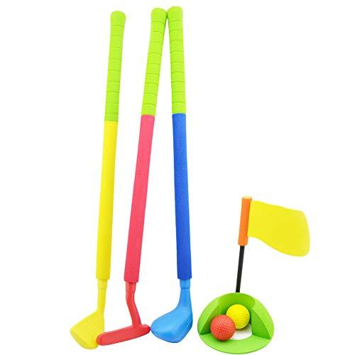 Supererm Golfschlägerset Kindergarten Sicherheitstraining Softgolf Eltern-Kind-sportzubehör Kinder Kleinkind Kinder Kleinkind-club